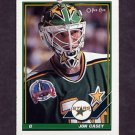 1991-92 O-Pee-Chee Hockey #237 John Casey - Minnesota North Stars