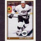 1991-92 O-Pee-Chee Hockey #225 Marty McSorley - Los Angeles Kings