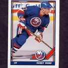1991-92 O-Pee-Chee Hockey #205 Randy Wood - New York Islanders