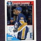 1991-92 O-Pee-Chee Hockey #190 Brett Hull LL - St. Louis Blues