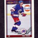 1991-92 O-Pee-Chee Hockey #189 Phil Sykes - Winnipeg Jets
