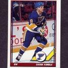 1991-92 O-Pee-Chee Hockey #156 Darin Kimble - St. Louis Blues