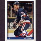 1991-92 O-Pee-Chee Hockey #144 Joe Reekie - New York Islanders