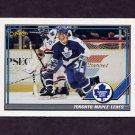 1991-92 O-Pee-Chee Hockey #123 Toronto Maple Leafs Team