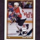 1991-92 O-Pee-Chee Hockey #077 Keith Acton - Philadelphia Flyers