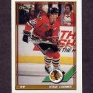 1991-92 O-Pee-Chee Hockey #075 Steve Larmer - Chicago Blackhawks