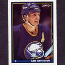 1991-92 O-Pee-Chee Hockey #065 Dale Hawerchuk - Buffalo Sabres