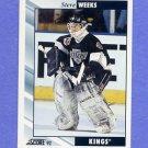 1992-93 Score Hockey #547 Steve Weeks - Los Angeles Kings