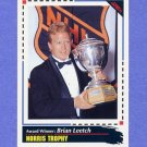 1992-93 Score Hockey #522 Brian Leetch AW - New York Rangers