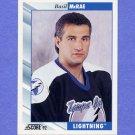 1992-93 Score Hockey #509 Basil McRae - Tampa Bay Lightning