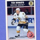 1992-93 Score Hockey #479 Ted Donato - Boston Bruins