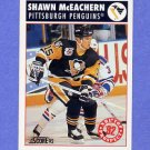 1992-93 Score Hockey #459 Shawn McEachern - Pittsburgh Penguins