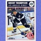 1992-93 Score Hockey #455 Brent Thompson - Los Angeles Kings