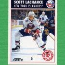 1992-93 Score Hockey #449 Scott Lachance - New York Islanders