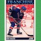 1992-93 Score Hockey #431 Mark Messier FP - New York Rangers