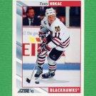 1992-93 Score Hockey #407 Tony Hrkac - Chicago Blackhawks