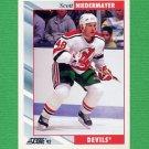 1992-93 Score Hockey #401 Scott Niedermayer - New Jersey Devils