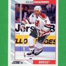 1992-93 Score Hockey #394 Alexei Kasatonov - New Jersey Devils