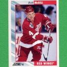 1992-93 Score Hockey #386 Bob McGill - Detroit Red Wings