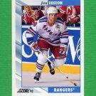 1992-93 Score Hockey #362 Jan Erixon - New York Rangers
