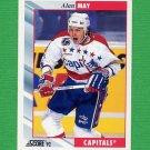 1992-93 Score Hockey #357 Alan May - Washington Capitals