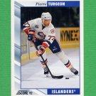 1992-93 Score Hockey #325 Pierre Turgeon - New York Islanders