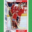1992-93 Score Hockey #320 Don Beaupre - Washington Capitals