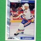 1992-93 Score Hockey #298 Ray Ferraro - New York Islanders