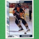 1992-93 Score Hockey #287 Bob Errey - Pittsburgh Penguins