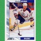 1992-93 Score Hockey #281 Martin Gelinas - Edmonton Oilers