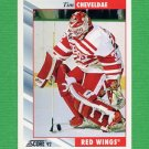 1992-93 Score Hockey #275 Tim Cheveldae - Detroit Red Wings