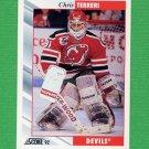 1992-93 Score Hockey #270 Chris Terreri - New Jersey Devils