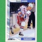 1992-93 Score Hockey #268 Randy Gilhen - New York Rangers