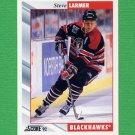 1992-93 Score Hockey #266 Steve Larmer - Chicago Blackhawks