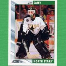 1992-93 Score Hockey #249 Jon Casey - Minnesota North Stars
