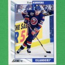1992-93 Score Hockey #232 Tom Kurvers - New York Islanders
