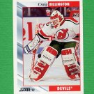 1992-93 Score Hockey #228 Craig Billington - New Jersey Devils
