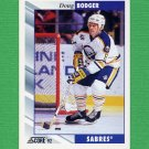 1992-93 Score Hockey #226 Doug Bodger - Buffalo Sabres