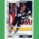 1992-93 Score Hockey #221 Bob Kudelski - Los Angeles Kings