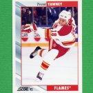 1992-93 Score Hockey #216 Trent Yawney - Calgary Flames