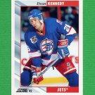 1992-93 Score Hockey #211 Dean Kennedy - Winnipeg Jets