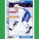 1992-93 Score Hockey #197 Doug Smail - Quebec Nordiques