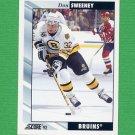 1992-93 Score Hockey #186 Don Sweeney - Boston Bruins