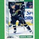 1992-93 Score Hockey #183 David Shaw - Minnesota North Stars