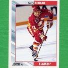 1992-93 Score Hockey #171 Gary Leeman - Calgary Flames
