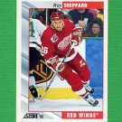 1992-93 Score Hockey #163 Ray Sheppard - Detroit Red Wings