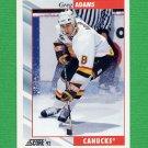 1992-93 Score Hockey #146 Greg Adams - Vancouver Canucks