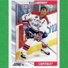 1992-93 Score Hockey #143 Rod Langway - Washington Capitals