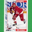 1992-93 Score Hockey #141 Brad McCrimmon - Detroit Red Wings