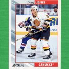 1992-93 Score Hockey #124 Doug Lidster - Vancouver Canucks